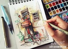 Architecture sketches #4 on Behance