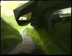 Environment Art by Scott Robertson