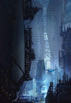 "paprikapiano: "">City by Subroto Bhaumik (more: http://ift.tt/2hAzuNH) """