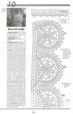 pontilhas de croche - Elisiane Severo - Álbumes web de Picasa