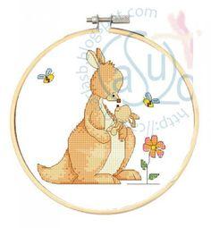 Kangaroo/Canguro This girl has amazing designs!   Thank you CarlaSB !