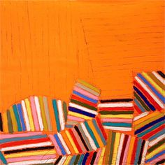 influenced by quilts Gordon Hopkins -
