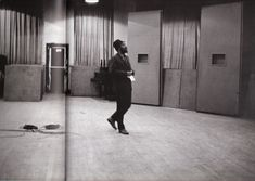 Monk wistfully waltzing around the studio. This picture of Monk listening to the playback was taken around 1962 or 1963 Jazz Artists, Jazz Musicians, Jim Marshall, Sonny Rollins, Thelonious Monk, Cool Jazz, Duke Ellington, Miles Davis, Jazz Festival