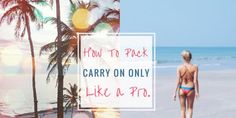 Carry-on Packing List