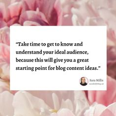 Regardless of how many articles you read on blog topic ideas, if your potential audience isn't interested then it's not worth blogging about it, because it won't bring you the right traffic that converts. So dig in deep with your customer base and work out the questions they need answers to.  --- #blogtip #blogger #blogging #content marketing #contentmarketingmanager #myindielifeblog #inboundmarketing Inbound Marketing, Content Marketing, Online Marketing, Digital Marketing, Blog Topics, Small Business Marketing, Understanding Yourself, Improve Yourself, Blogging