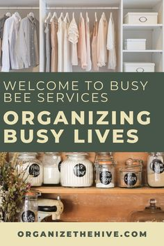 Give your house a makeover! I love how Busy Bee offers other services apart from just home organization. Their team is here to customize your life organizing solutions to streamline your busy home and schedule. Get on your way to a clutter free home! Moving Organisation, Kids Bedroom Organization, Clutter Organization, Home Organization Hacks, Paper Organization, Organizing Your Home, Kitchen Organization, Home Organization Services, Medicine Cabinet Organization