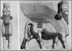 Winged Bull, a good genii/jinni