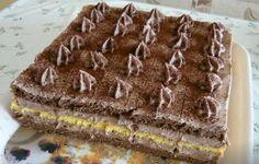 Zala kocka Serbian Recipes, Czech Recipes, Ethnic Recipes, Hungarian Desserts, Hungarian Recipes, Baking Recipes, Dessert Recipes, Sweet Cookies, Pavlova