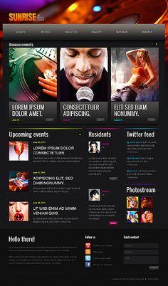 Night Club Drupal Template #webdesign http://www.templatemonster.com/drupal-themes/41941.html?utm_source=PinterestM&utm_medium=timeline&utm_campaign=ncldrthrt
