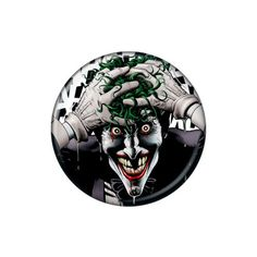 Joker The Killing Joke Button