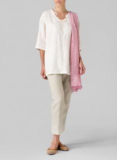 Linen Jacquard Tunic