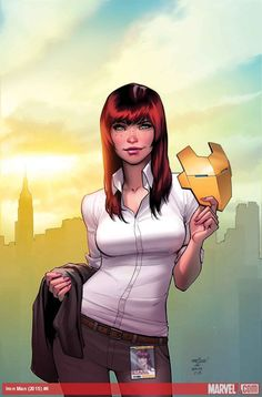 Mary Jane rejoint Invicible Iron Man | COMICSBLOG.fr