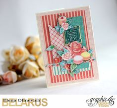 Funny Flowers Cards, Cafe Parisisan, by Elena Olinevich, product by Graphic45, photo5.jpg