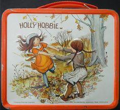 1972 Holly Hobbie Lunch Box