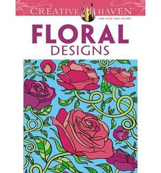 Over 30 full-page patterns form vivid fantasies for everyone who loves flowers. Images include lush roses, daffodils, poppies, sunflowers, and other blossoms. Each fun-to-color illustration features a fanciful border.