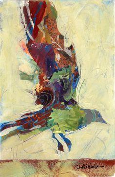 Shelli Walters Bird Painting