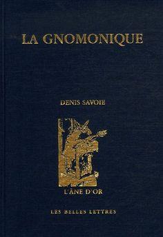 La gnomonique / Denis Savoie