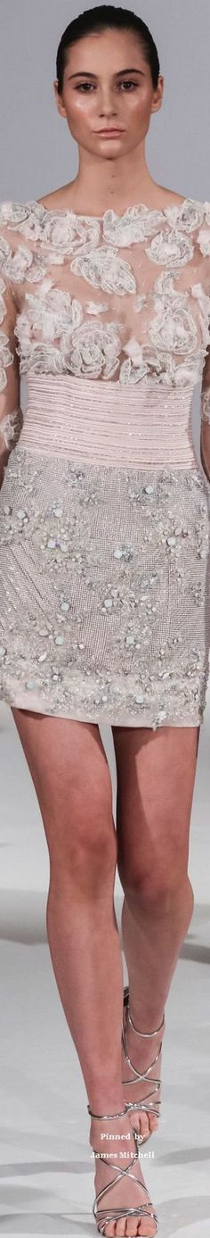 Célia Kritharioti Couture Spring-summer 2017
