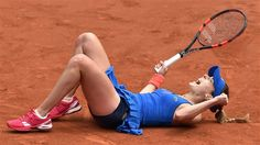 5/29/15 Via TENNIS.com:  Alize Cornet beats Mirjana Lucic-Baroni, 4-6, 6-3, 7-5, to reach 4th round for 1st time. http://www.tennis.com/pro-game/2015/05/the-latest-lucic-baroni-opens-play-on-day-6-at-french-open/55071/#.VWhfrGDjPUk …                                                                                                                                                                                 More
