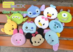 2015 Best Selling Tsum Tsum Coin Purse Kawaii Anime Mini Women Purse Cartoon Small Wallet Christmas Gift Coin Wallet Pouch brand-in Coin Purses from Luggage & Bags on Aliexpress.com | Alibaba Group