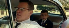 Suburbicon Noah is in the back seat