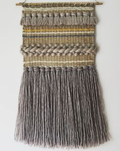 Jute, wool and cotton weaving. Custom made by Lolamott