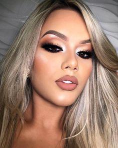Glam Makeup, Cute Makeup, Gorgeous Makeup, Makeup Inspo, Bridal Makeup, Wedding Makeup, Makeup Inspiration, Beauty Makeup, Makeup Ideas