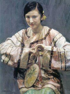 Chen Yifei ~ Kínai Romantikus realizmus festő | Tutt'Art @ | Pittura * Scultura * Poesia * Musica |