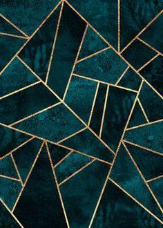 Deep Teal Stone Alu Dibond Print Order now at: moeb .ladendirek… Deep Teal Stone Alu Dibond Print Order now at: moebel. Salon Art Deco, Motif Art Deco, Art Deco Tiles, Art Deco Print, Art Deco Pattern, Art Patterns, Poster Online, Deep Teal, Blue Aesthetic