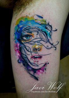 Tattooed by Javi Wolf