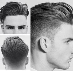 Haare Swept back undercut Hairstyle. Trendy Mens Hairstyles, Quiff Hairstyles, Trendy Haircuts, Haircuts For Men, Medium Hairstyles, Modern Haircuts, Formal Hairstyles, Short Haircuts, Wedding Hairstyles