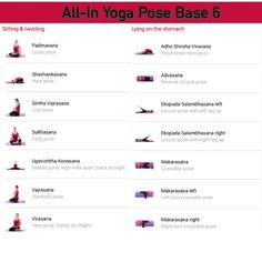 All-in Yoga pose base page 6