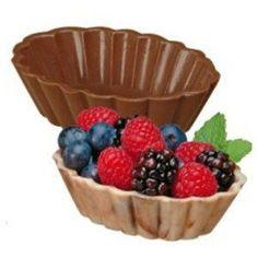 Chokoladeskåls form, 3 stk