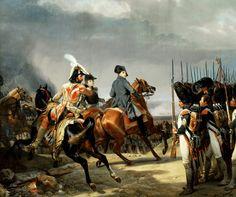 Орас Верне - Смотр войск перед боем 14 октября 1806