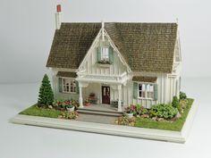 Miniature Miniatures - Nell Corkin: Carpenter Gothic Cottage - 2
