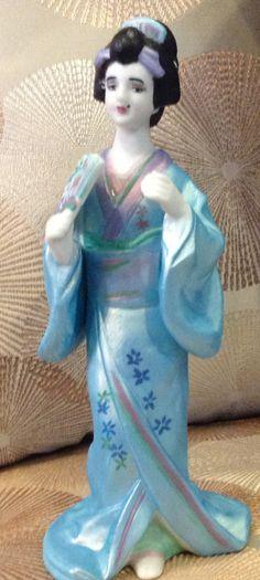 Geisha Girl Sculpture by emyliastone on Etsy, $25.00