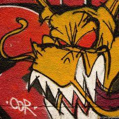 Drap...Gond !!! #like4like #like4follow #picoftheday #good #wall #streetart #graffiti #dragon #instagood