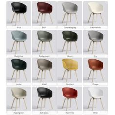 ABOUT A CHAIR - ref. AAC22 new colors available