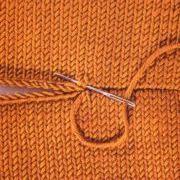 knit stitch seaming.