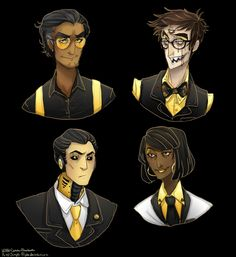 DB Carlos, Kevin, Daniel, and Lauren (Shiny Happy People by Simple-Psycho)