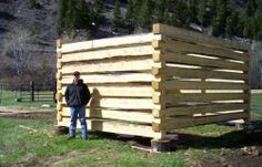 How to Build a Log Cabin with Dovetail Notches Project