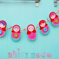 Russian Doll Bunting