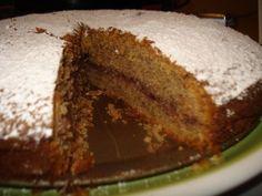 torta di grano saraceno ai lamponi