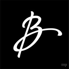 Monogram Project is a typography passion project by graphic designer Hope Meng. Letter B, Letter Writing, Music Wallpaper, Iphone Wallpaper, Sneakers Wallpaper, Smile Pictures, Signature Fonts, B Tattoo, Creative Lettering