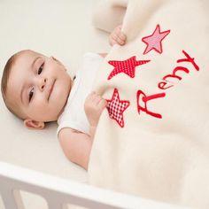 Baby Blanket Stars #baby-blanket #baby-boy-gift #baby-gift #baby-gift-hamper #baby-hamper #personalised-baby-blanket #personalised-baby-gift #unique-baby-gift