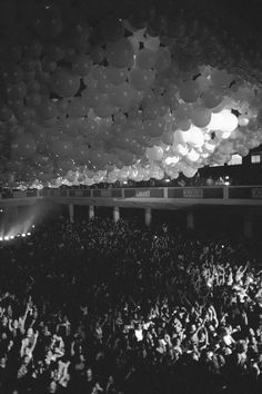 I couldn't quite find much on this image but I know I tend to be drawn to images that make me feel the same raw emotions that the image was taken in. This photo what appears to be a concert or premiere is so charged with excitement I can't help but be curious to what we are all so excited for.