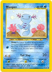 Pokemon Neo Discovery Card 71 - Wooper $0.39-$1.00