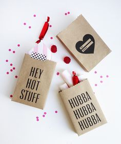 Printable Valentine Party Bags
