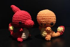 Charmander, Charmeleon; Pokemon