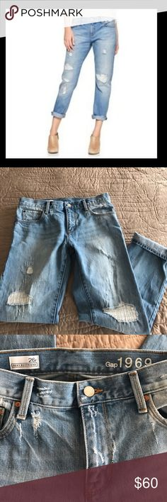 Gap Sexy Boyfriend Jeans NWT Brand-new without tags. Identical pair as in the first photo. So cute! GAP Jeans Boyfriend